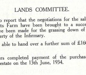 sale of land