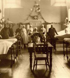Nursing staff on the ward