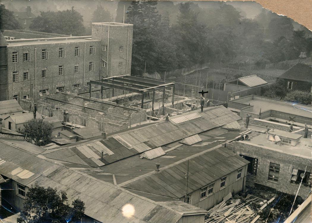 Salisbury Infirmary During The Great War Salisbury