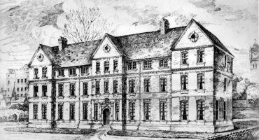 Victoria Nurses Home sketch