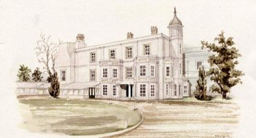 Watercolour image of Old Manor