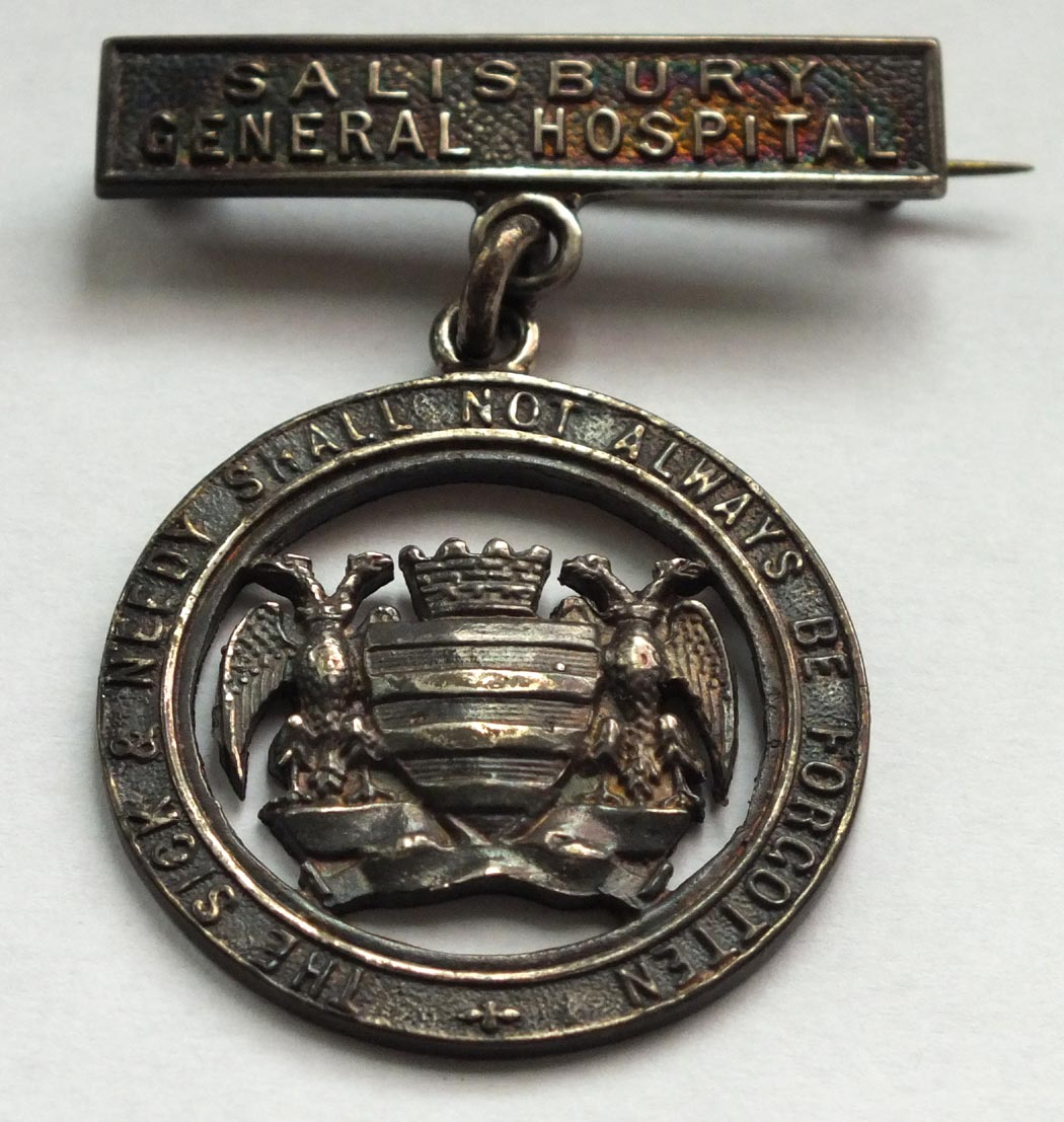 Nurse badges Salisbury Healthcare History