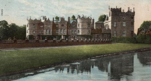 Longford Castle viewed from across the river