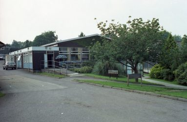exterior of Newbridge Hospital