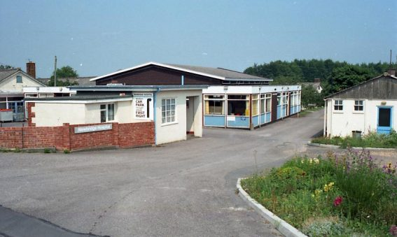 Newbridge Hospital entrance