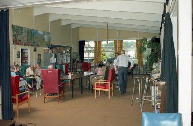 Newbridge Hospital day room