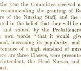 extract describing suggestion to award badges to nurses