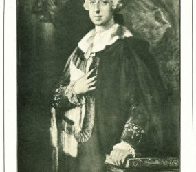 Picture taken from Gainsborough painting of Earl of Radnor