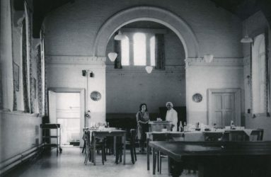 View of dining hall