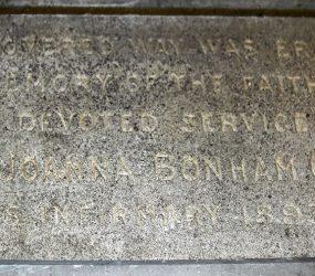 inscription carved on stone