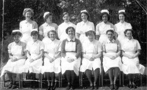 Nurses pose for group photo