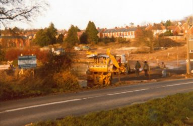 Newbridge Hospital demolished