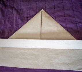 fold bottom edge up again