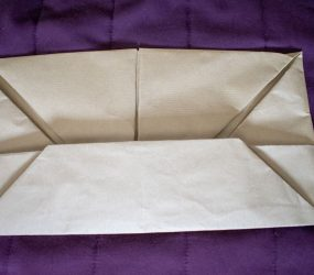 tuck this flap underneath