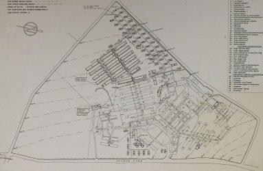 Layout plan of Odstock Emergency Hospital