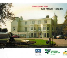 Exterior of Old Manor Hospital