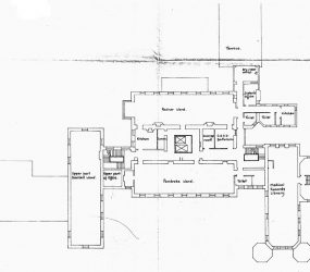 Floor plan with room labels