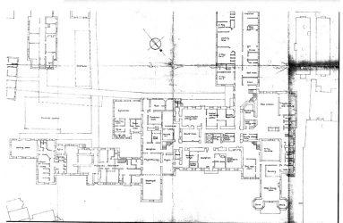 Floor plan with room labels