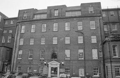 front facade of Salisbury General Infirmary