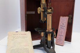 Dr Walker's microscope