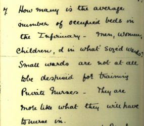 Letter from Florence Nightingale 15 Nov 1896, page 8