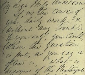 Letter from Florence Nightingale, 27 Feb 1862, page 1
