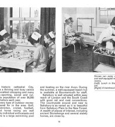 Nurses pictured at lunch and in hairdressing salon