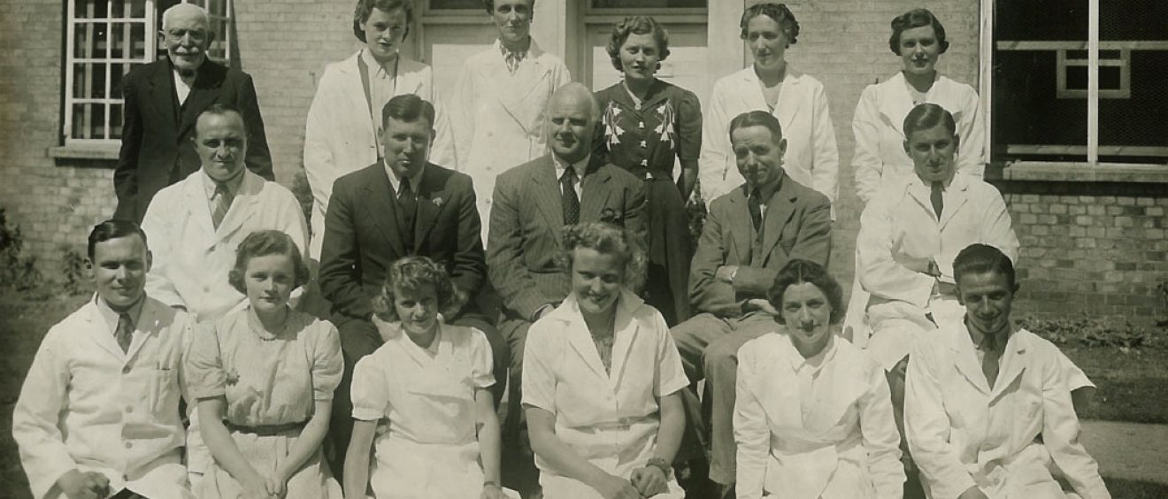 Pathology dept 1941, Odstock Hospital
