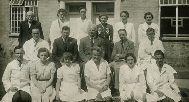Pathology dept 1941, Odstock Hospital