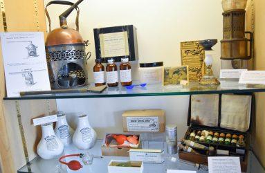 steam inhalers, spray bottles, glass syringe, minature bottles, metal infuser