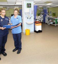 Nursing staff on Intensive care ward