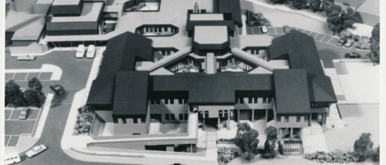 3D model of the spinal injuries treatment centre, adjoining the main hospital