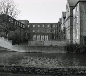 view of building, River Avon in foreground