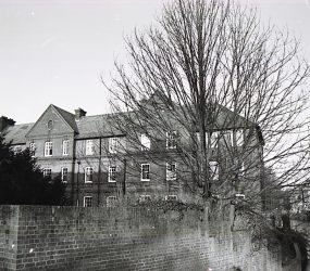 view of front of building, River Avon on one side